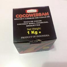 Carbuni Narghilea 1kg, din coaja de cocos.