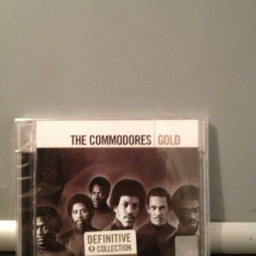 THE COMMODORES with L. RICHIE - GOLD -2CD SET (2005/UNIVERSAL)  CD NOU/SIGILAT, universal records