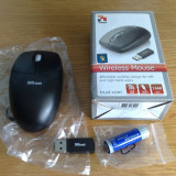 MOUSE WIRELESS TRUST  2.4 GHZ   1000 DPI, Laser, 1000-2000