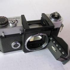VAND AP FOTO CANON CANONFLEX CU OBIECTIV SUPER-CANOMATIC 50mm - Aparat Foto cu Film Canon