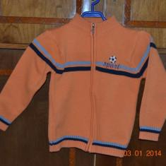 Pulover - jacheta portocaliu, Culoare: Orange