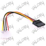 Cablu alimentare SATA ( PC molex IDE to sata )
