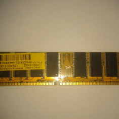1 Gb Ram DDR1 Zeppelin - Memorie RAM Zeppelin, 400 mhz, Quad channel