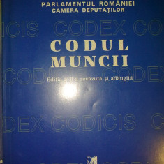 Codul muncii - Carte Dreptul muncii