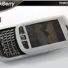 Husa silicon Blackberry Torch 9800 + expediere gratuita Posta - seel by PHONICA - Husa Telefon