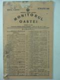 MONITORUL OASTEI - 10 NOIEMVRIE 1935