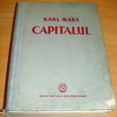 CAPITALUL - Karl Marx / Vol. I