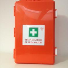 Trusa sanitara de incinta cu suport de prindere in perete demontabila - Trusa prim ajutor