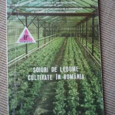 Soiuri de legume cultivate in romania agricultura carte ilustrata color hobby, Alta editura