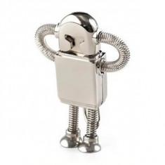 SUPER CADOU de VALENTINES DAY ! Pentru Iubit /Prieten /Amic Memorie Flash Satzuma Robotzel Inox 4GB originala. Super Oferta! - Stick USB, USB 3.0