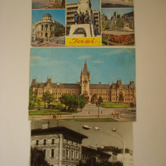 Vederi - IASI - Carte Postala Moldova dupa 1918, Circulata, Fotografie
