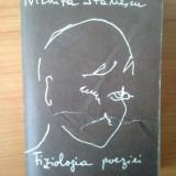 T2 Nichita Stanescu - Fiziologia poeziei - Roman, Anul publicarii: 1990