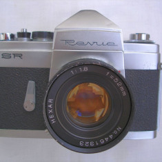 Rar aparat foto Revue SR in fapt Konica FP - Aparat Foto cu Film Konica, SLR, Mic