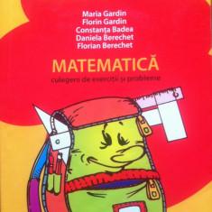 MATE 2000 +5/6 MATEMATICA CULEGERE DE EXERCITII SI PROBLEME CLASA I - Culegere Matematica