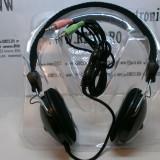Casti calculator PC laptop cu Microfon si Volum control pe fir - Casca PC