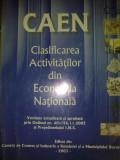 Clasificarea Activitatilor din Economia Nationala, Alta editura