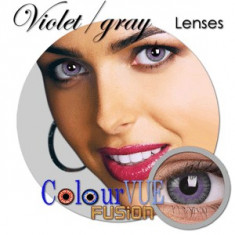 Lentile de contact colorate Gri Violet.