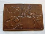 Metaloplastie veche pe foita de cupru, Ornamentale