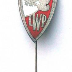 INSIGNA MILITARA POLONIA LWP / ARMATA POPULARA POLONEZA, 20 x 50 mm **, Europa