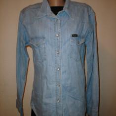 Camasa jeans, Wrangler, 100% originala - Camasa dama Wrangler, Marime: XL, Maneca lunga, Casual, Din imagine