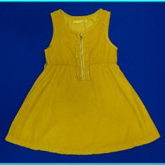 NOU _ Sarafan / rochie, catifea subtire, calitate TERRANOVA _ fete | 12 - 13 ani - Sarafan copii