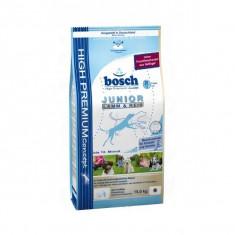 Bosch Junior cu miel si orez 15 kg - Hrana caini Bosch, Uscata