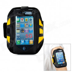 Husa brat jogging Armband Iphone 5 + folie protectie ecran + expediere gratuita Posta - sell by PHONICA