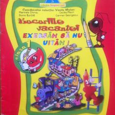 BUCURIILE VACANTEI - EXERSAM SA NU UITAM - Clasa I - Culegere Romana