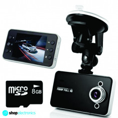 Camera Video DVR Auto Full HD 1080P | Unghi 140 Grade | Card 8GB GRATUIT - Camera video auto