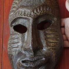 Masca deosebita - motiv arta africana - hartie presata !!!! - Arta din Africa