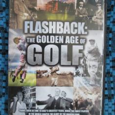 FLASHBACH: The golden age of GOLF - documentar DVD (original din Anglia, in stare impecabila!!!) - Film documentare, Engleza