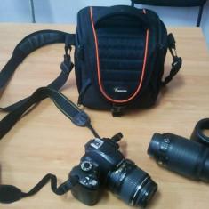 Kit aparat foto DSLR Nikon D60, Kit (cu obiectiv), 10 Mpx, HD
