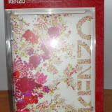 Husa Fashion Kenzo iPad 2, 3, 4 - 9.7 inch Alba - FOLIE INCLUSA - NOUA