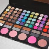 Trusa machiaj 78 culori farduri ochi si fard obraz blush make up Fraulein38