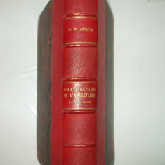 W. Anson Loi et pratique constitutionnelles de l'Angleterre Paris 1903, Alta editura