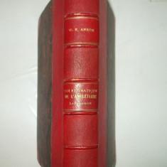 W. Anson Loi et pratique constitutionnelles de l'Angleterre Paris 1903 - Carte Drept constitutional