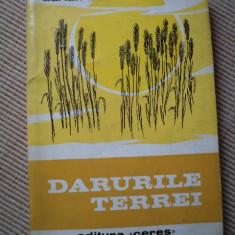 Darurile Terrei Adrian Costa carte stiinta ilustrata editura ceres