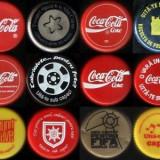 capace Coca Cola - colecţie de 24 modele romaneşti diverse