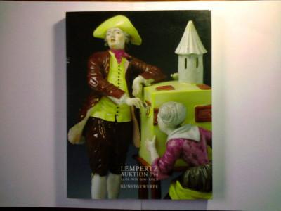 Catalog licitatie Lempertz ornamentica,arte aplicate,sticlarie,mobilier,bibelouri,etc foto
