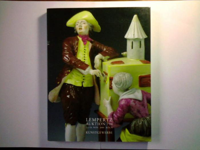 Catalog licitatie Lempertz ornamentica,arte aplicate,sticlarie,mobilier,bibelouri,etc
