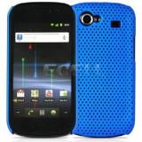 Husa plastic Samsung Google Nexus S  i9020 i9023 + folie ecran, Albastru