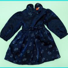 IMPECABILA _ Rochie de gala / rochita de ocazie, SMILY _ fetite | 18 - 24 luni, Marime: Alta, Culoare: Bleumarin