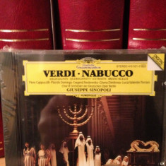 VERDI - NABUCO-highlights with P. Domingo/P.Cappuccilli (DECCA/1983) - CD NOU - Muzica Clasica universal records