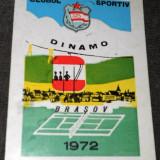 Calendar buzunar ... Dinamo Brasov (actuala FC Brasov)