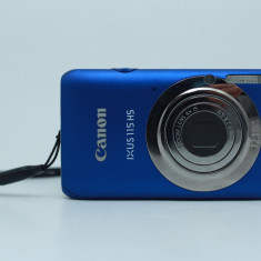 Aparat foto Canon ixus 115 hs - Aparat Foto compact Canon, Compact, 12 Mpx, 4x, 3.0 inch
