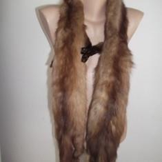 Guler blana naturala - Fular Dama