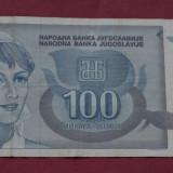 100 dinari - dinara 1992 Yugoslavia