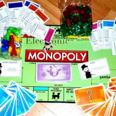 Monopoly Joc Limba Roman - Jocuri Logica si inteligenta, Unisex