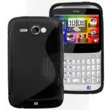 Husa silicon HTC Cha Cha G16 + folie ecran + expediere gratuita Posta - sell by PHONICA