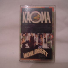 Vand caseta audio Kaoma-World Beat, originala - Muzica Pop Columbia, Casete audio